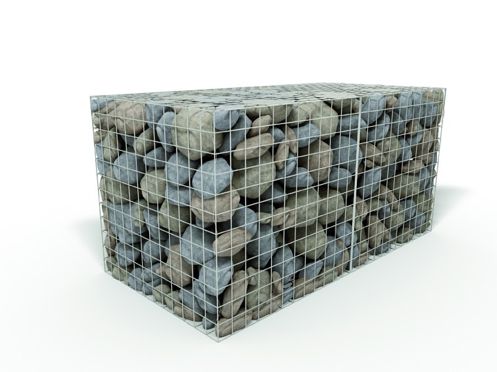 3mm Galfan Wire Gabions